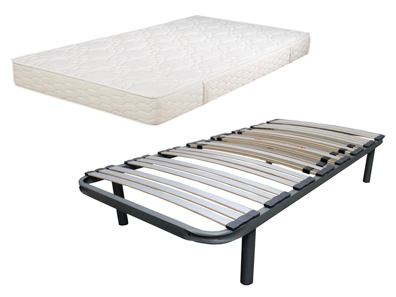 matelas et sommier 90x190 pas cher promo mousse. Black Bedroom Furniture Sets. Home Design Ideas